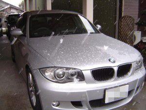 BMW 120i E87にサンヨー製カーナビ ゴリラの取付