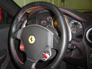 フェラーリ F430  コクピット