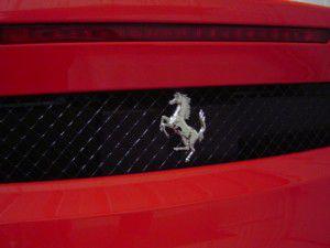 フェラーリ F430 跳ね馬エンブレム