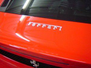 フェラーリ F430 リアエンブレム