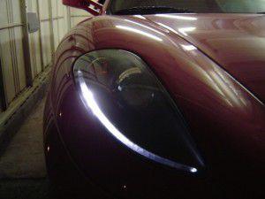 フェラーリ F430 ポジション球のLED化