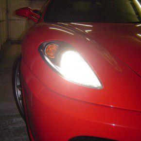 フェラーリ F430 ヘッドライト点灯