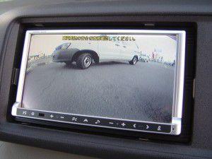 ホンダライフJC1 バックカメラからの映像
