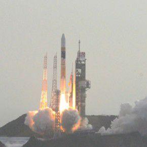 あかつき H2Aロケット打ち上げの瞬間