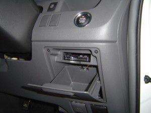 トヨタのノアにETC車載器の取付
