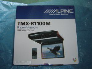 フリップダウンモニター ALPINE TMX-R100M