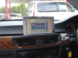 BMW 3シリーズ E91にオンダッシュカーナビの取付完了