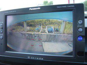 BMW 3シリーズ バックカメラからの映像