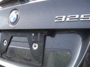 BMW 325i バックカメラ取付