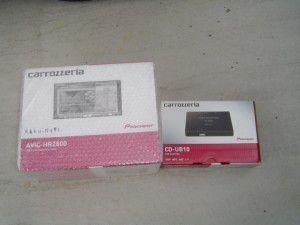 パイオニアAVIC-HRZ800 パイオニア CD-UB10