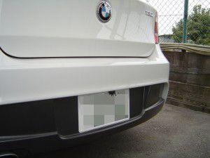 BMW 1シリーズにバックカメラND-BC4の取付け