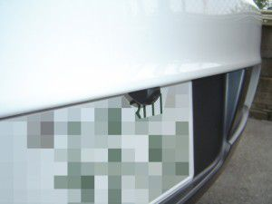 BMW 1シリーズにバックカメラの取付