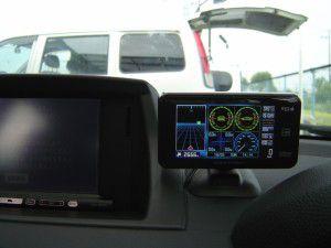 BMW 1シリーズにGPSレーダー探知機の設置、取付