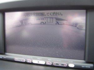 BMW 1シリーズ バックカメラからの映像