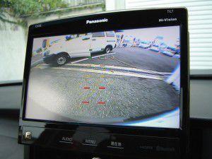 オデッセイRB3/RB4 バックカメラからの映像