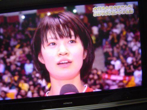 バレーボール女子 32年ぶり銅メダル 木村沙織