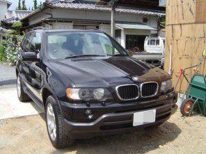 BMW X5にパナソニック製カーナビとバックカメラの取付
