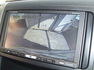 ヴェルファイア バックカメラからの映像