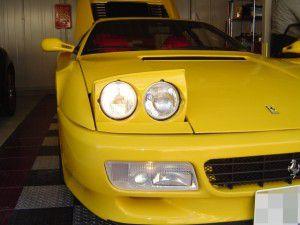 フェラーリ512TR 純正ハロゲン ヘッドライト