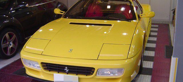 フェラーリ512TR ヘッドライトのHIDシステム取付・換装