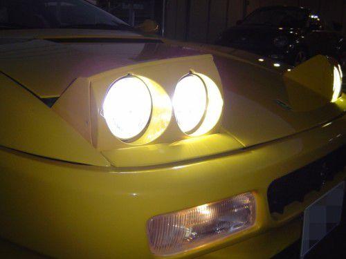 フェラーリ512TR HID換装後