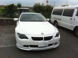 BMW 6シリーズに地デジチューナー設置