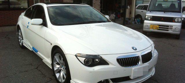 BMW 6シリーズに地デジチューナーの設置・取付