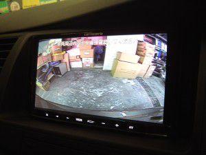 アイシス バックカメラ/リアビューカメラからの映像