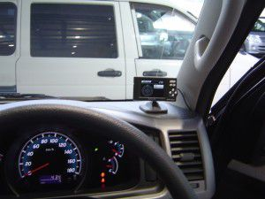 GPSレーダー探知機の取付・設置