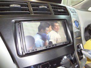 クラリオン NX711 地デジ映像