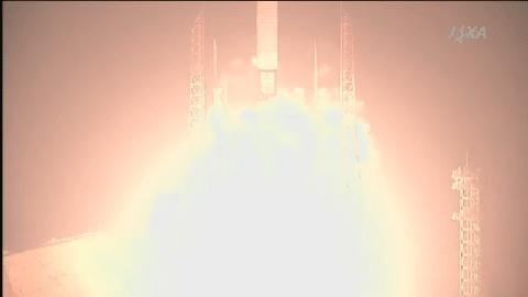 H2Aロケット21号機 打上げの瞬間