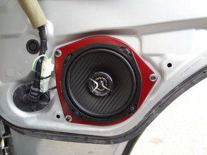 ALPINE 音質向上シリーズ KTX-Y176B インナーバッフルボード スピーカー