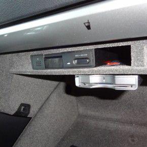 グローブボックス内ETC車載器
