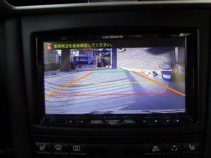 ポルシェ911 バックカメラからの映像 サイバーナビ
