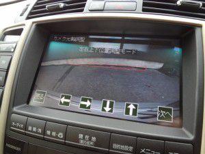 クラウンマルチビジョン バックカメラ設定画面