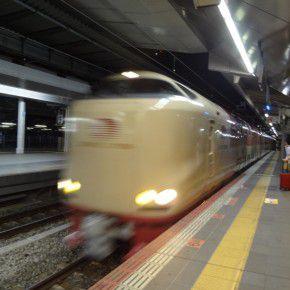 サンライズ瀬戸・出雲 大阪駅到着