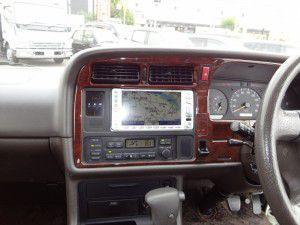 ハイエース 100系 トヨタ純正DVDナビ
