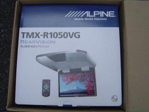 アルパイン TMX-R1050VG