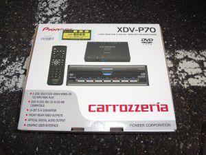 カロッツェリア XDV-P70 DVDチェンジャー