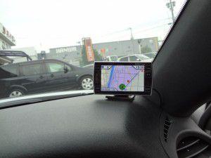 IS-F GPSレーダー探知機の設置・取付