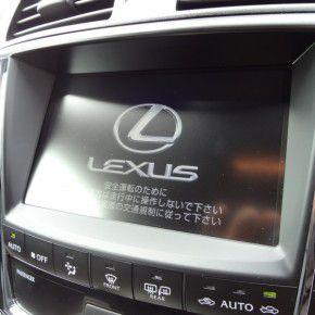 LEXUS IS-F 純正マルチビジョン2