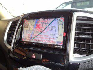 スズキ ソリオにイクリプス AVN-Z02iの設置完了