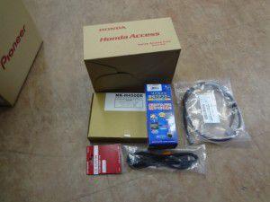 N BOXにカーナビとバックカメラ・ETC車載器の設置・取付2