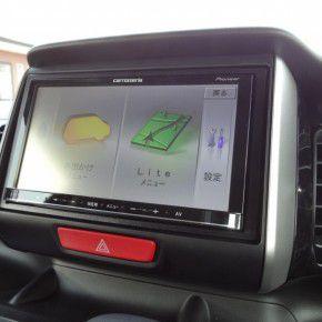 N BOXにカーナビとバックカメラ・ETC車載器の設置・取付4