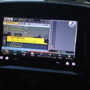 SUZUKI SOLIOにパイオニア製楽ナビ AVIC-MRZ099の取付完了 ソリオ3