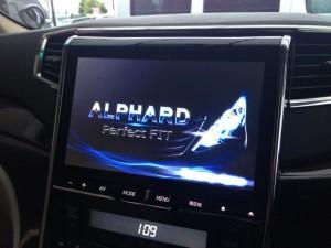 アルファードにビッグX EX-1000ALの設置取付完了